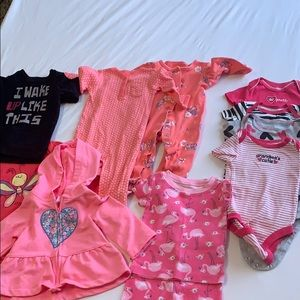 Baby girl 6 month bundle 10+ items